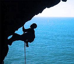 Kletter auf Gran Canaria