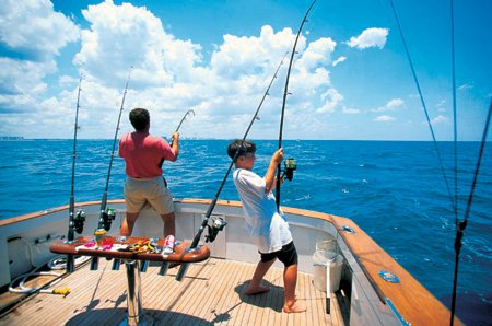 Tiefsee-fischen auf Gran Canaria