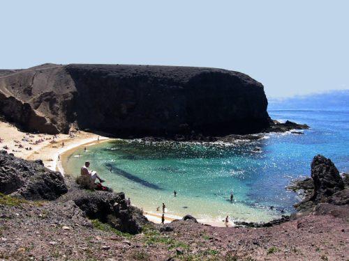 Buchten auf Lanzarote