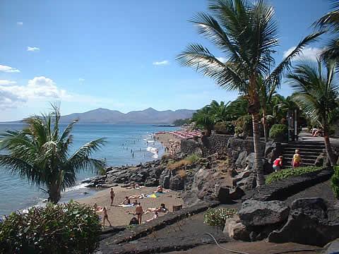 Playa Grande auf Lanzarote