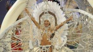 Aufwändige Kostüme beim Karneval auf Gran Canaria